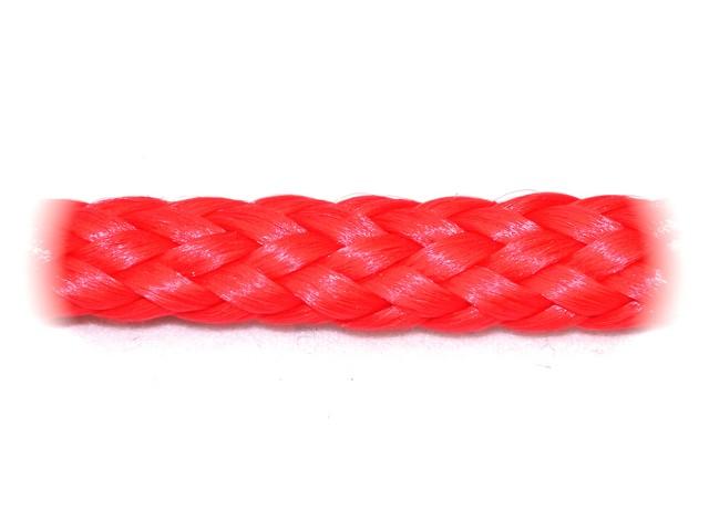 Červená šňůra zaplétaná - malá